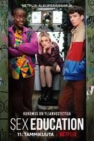 """Sex Education"" - Finnish Movie Poster (xs thumbnail)"