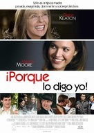 Because I Said So - Spanish Movie Poster (xs thumbnail)