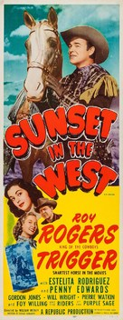 Sunset in the West - Re-release poster (xs thumbnail)