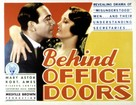 Behind Office Doors - Movie Poster (xs thumbnail)