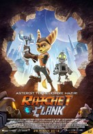 Ratchet and Clank - Turkish Movie Poster (xs thumbnail)