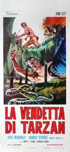 Tarzan's Deadly Silence - Italian Movie Poster (xs thumbnail)