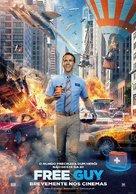 Free Guy - Portuguese Movie Poster (xs thumbnail)