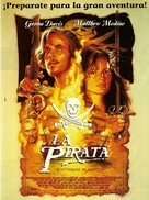 Cutthroat Island - Argentinian Movie Poster (xs thumbnail)