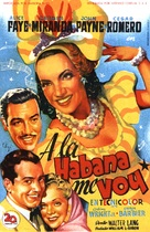 Week-End in Havana - Spanish Movie Poster (xs thumbnail)