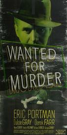 Wanted for Murder - Movie Poster (xs thumbnail)