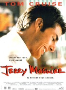 Jerry Maguire - French Movie Poster (xs thumbnail)