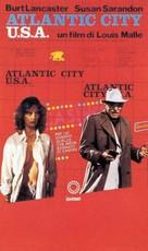 Atlantic City - Italian VHS movie cover (xs thumbnail)