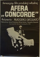 Concorde Affaire '79 - Polish Movie Poster (xs thumbnail)