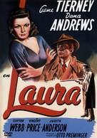 Laura - Spanish DVD cover (xs thumbnail)