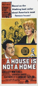 A House Is Not a Home - Australian Movie Poster (xs thumbnail)