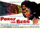 Porgy and Bess - German Movie Poster (xs thumbnail)