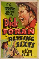 Blazing Sixes - Movie Poster (xs thumbnail)