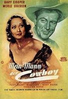 The Cowboy and the Lady - German Movie Poster (xs thumbnail)