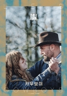 Les cowboys - South Korean Movie Poster (xs thumbnail)
