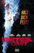 Vertical Limit - German Movie Cover (xs thumbnail)