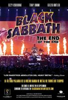 Black Sabbath the End of the End - Spanish Movie Poster (xs thumbnail)
