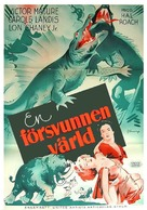 One Million B.C. - Swedish Movie Poster (xs thumbnail)