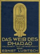 Das Weib des Pharao - German Movie Poster (xs thumbnail)