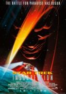 Star Trek: Insurrection - German Advance movie poster (xs thumbnail)