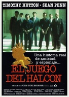 The Falcon and the Snowman - Spanish Movie Poster (xs thumbnail)