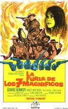 Guns of the Magnificent Seven - Spanish Movie Poster (xs thumbnail)
