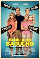 We're the Millers - Brazilian Movie Poster (xs thumbnail)