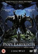 El laberinto del fauno - British DVD movie cover (xs thumbnail)