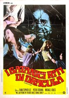 The Satanic Rites of Dracula - Italian Movie Poster (xs thumbnail)