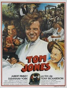 Tom Jones - French Movie Poster (xs thumbnail)