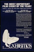 Exhibition - Movie Poster (xs thumbnail)