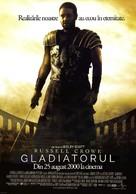 Gladiator - Romanian Movie Poster (xs thumbnail)