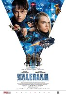 Valerian and the City of a Thousand Planets - Romanian Movie Poster (xs thumbnail)