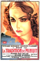 La tradition de minuit - French Movie Poster (xs thumbnail)