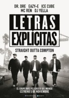 Straight Outta Compton - Argentinian Movie Poster (xs thumbnail)
