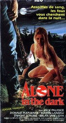 Alone in the Dark - French VHS movie cover (xs thumbnail)