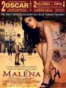 Malèna - Spanish Movie Poster (xs thumbnail)