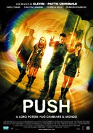 Push - Italian Movie Poster (xs thumbnail)
