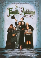 The Addams Family - French Re-release movie poster (xs thumbnail)