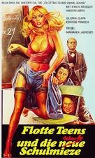 L'insegnante va in collegio - German VHS movie cover (xs thumbnail)