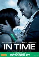 In Time - Australian Movie Poster (xs thumbnail)