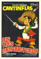 Tres mosqueteros, Los - Spanish Movie Poster (xs thumbnail)