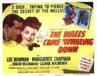 The Walls Came Tumbling Down - Movie Poster (xs thumbnail)
