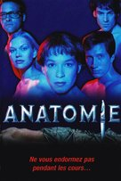Anatomie - French Movie Cover (xs thumbnail)