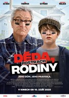 The War with Grandpa - Czech Movie Poster (xs thumbnail)