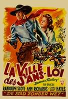 Badman's Territory - Belgian Movie Poster (xs thumbnail)