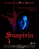 Suspiria - Australian Blu-Ray movie cover (xs thumbnail)