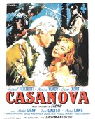 Le avventure di Giacomo Casanova - French Movie Poster (xs thumbnail)