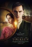 Tolkien - Turkish Movie Poster (xs thumbnail)