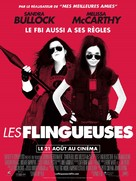The Heat - French Movie Poster (xs thumbnail)